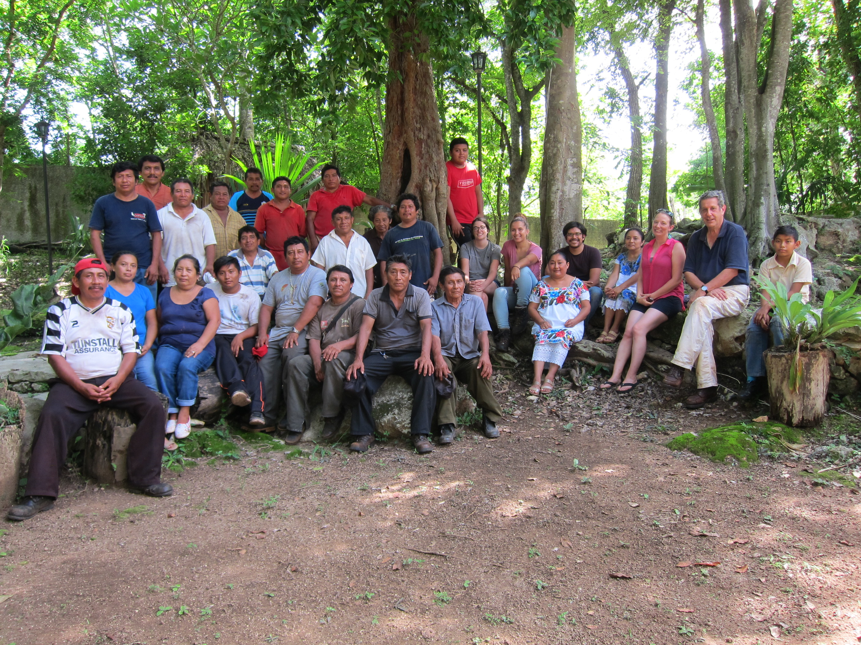 Tihosuco Project Team