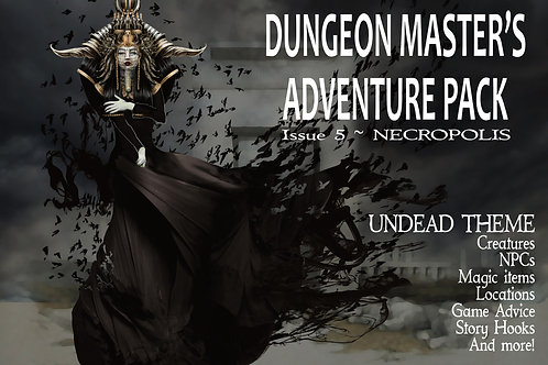 Dungeon Master's Adventure Pack 05 - Necropolis