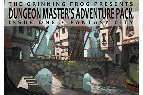 Dungeon Master's Adventure Pack 01 - Fantasy City