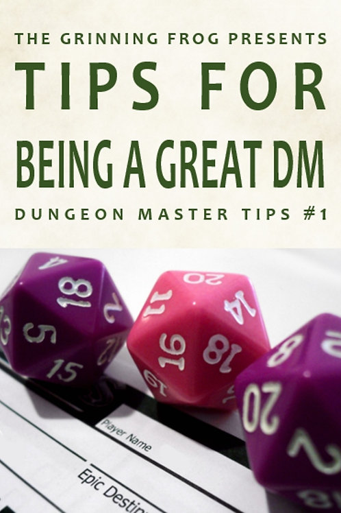 Dungeon Master Tips 01