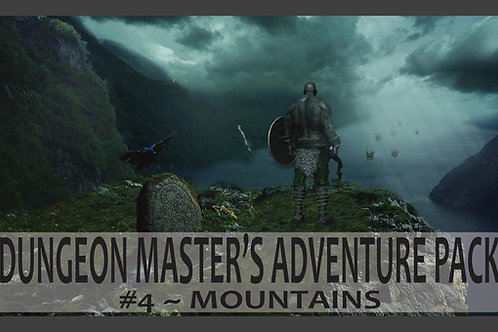 Dungeon Master's Adventure Pack 04 - Mountains