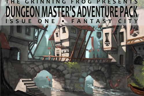 Dungeon Master's Adventure Pack 01 - Fantasy City