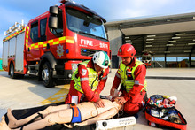 Sponsoring Cornwall Fire and Rescue Extrication and Trauma Team: