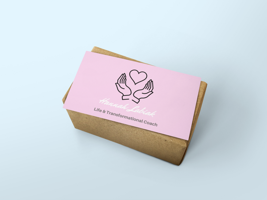 mockup-of-a-business-card-over-a-brown-p