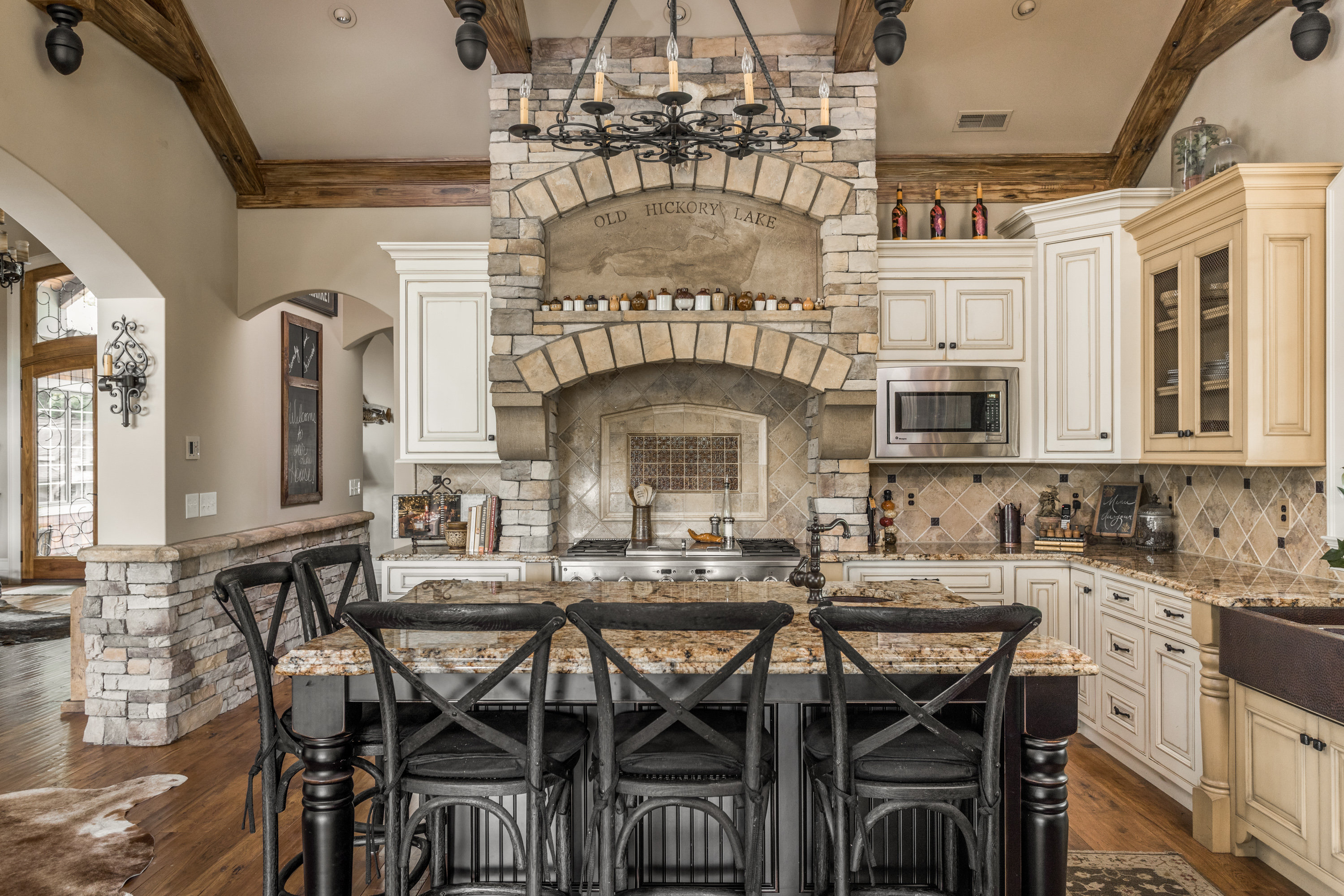 Custom Cabinets | Odon | Stollu0027s Woodworking LLC