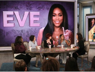 """Philly's Own EveOn Daytime TV """"The Talk""""."""