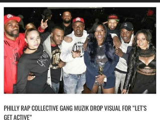 Philly's Rap Group Gang Muzik Are Putting In Work.