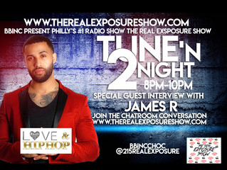 April 10th Special Guest Interview With James R From Love And Hiphop New York
