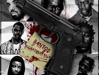 Philly artist Santos LB4R released a new song #SUCKA EMCEE KILLA