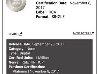SZA Goes Platinum On Her 27th Birthday