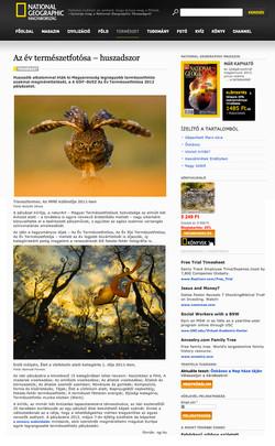Nature Photographer Of The Year, Hun