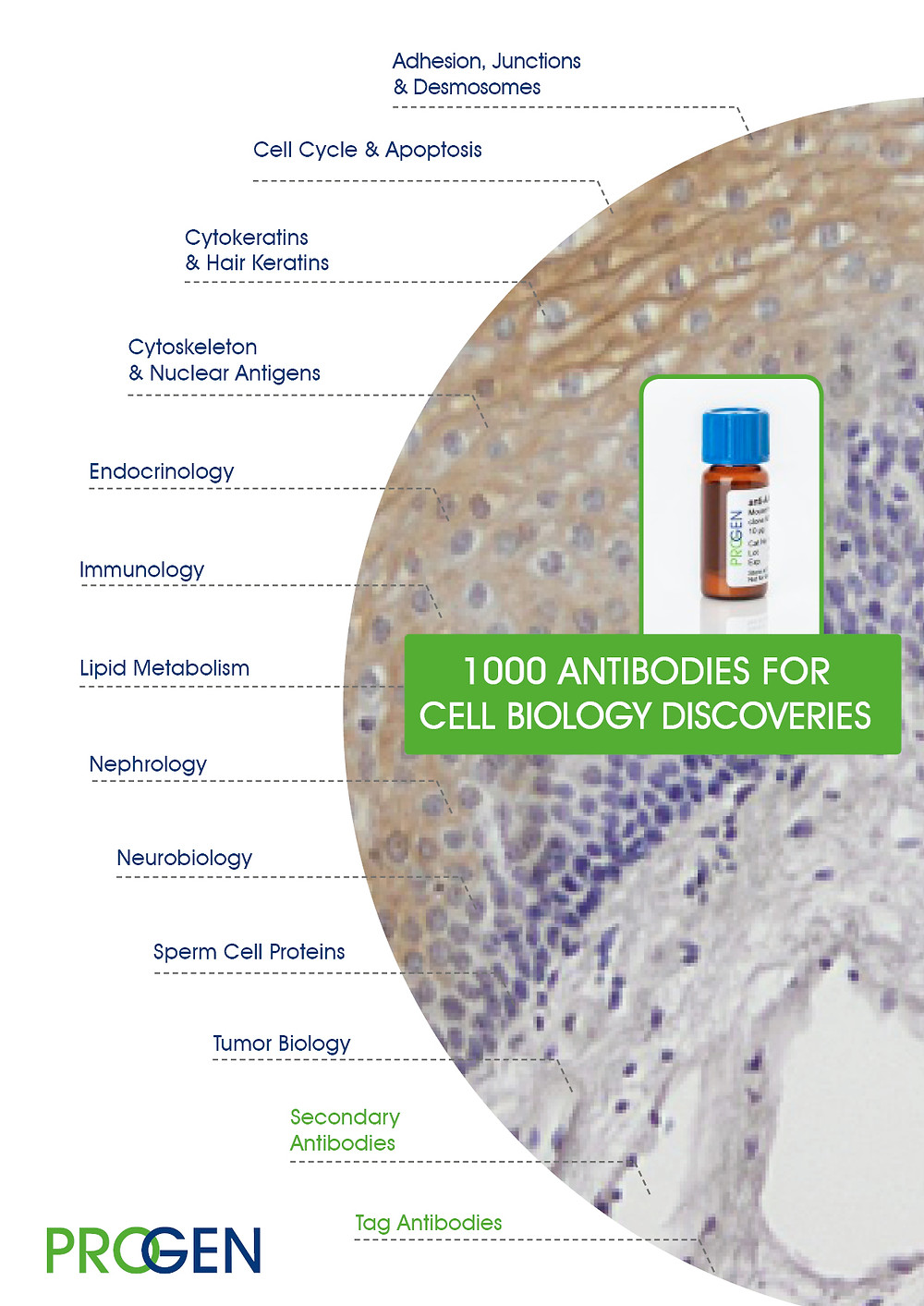 """PROGEN is an established manufacturer of over 1.000 research antibodies for basic and applied science"""