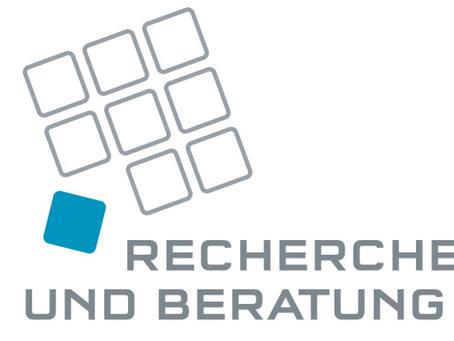 New Member: Welcome in our cluster to Recherche und Beratung