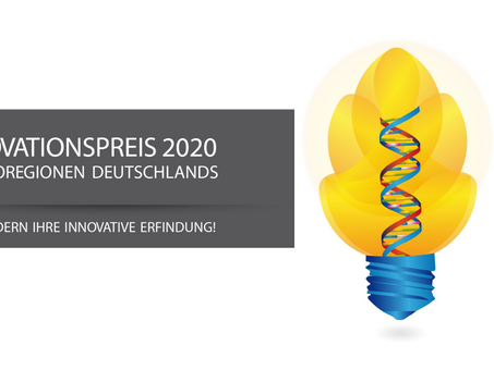 Innovation Prize of the German BioRegions: Top research overshadowed by the corona pandemic