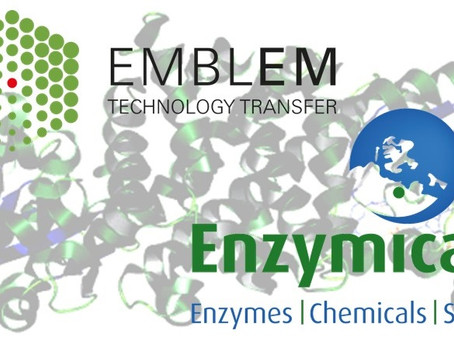 EMBLEM and Enzymicals AG announce an agreement to improve enzymatic production of chemicals