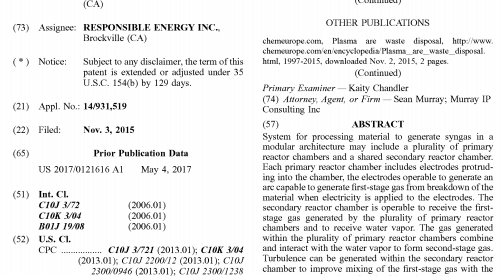 Responsible Energy Receives 6th Patent
