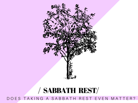 Do I Need to Take a Sabbath Rest?