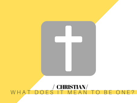 Christian: What does it mean to be a follower of Christ?