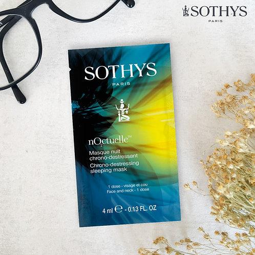 Sothys 減壓淨白睡眠面膜 Chrono-destressing sleeping mask