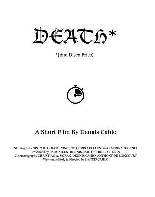 Death (And Disco Fries) Official Poster.