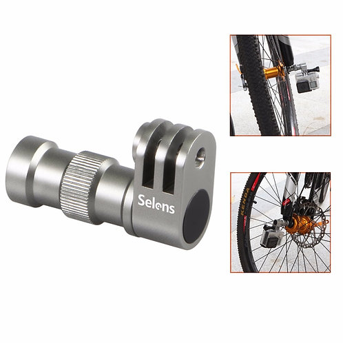 Bicycle Wheel Bracket Connector Three Prong Mount for GoPro Hero 3 4 5 8 Camera