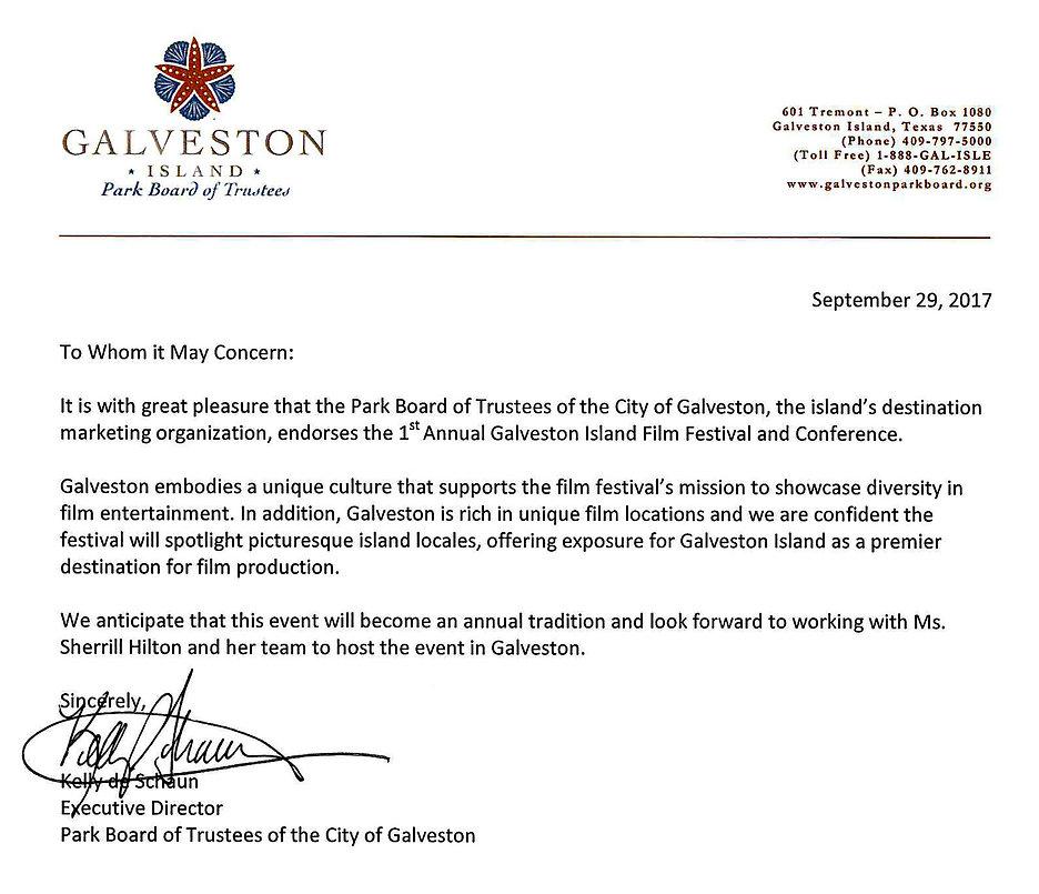galveston-film-fest | Galveston Park Board