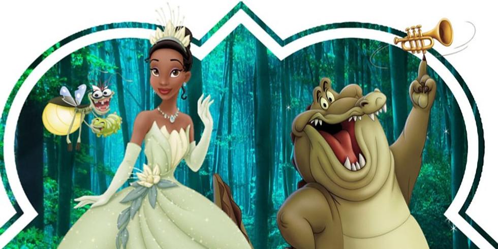 Princess & The Frog Screening & Mardi Gras Party