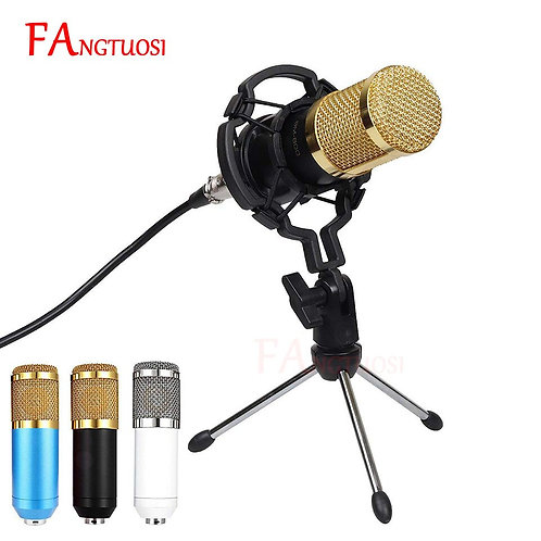 BM 800 Microphone Condenser Recording With Shock Mount