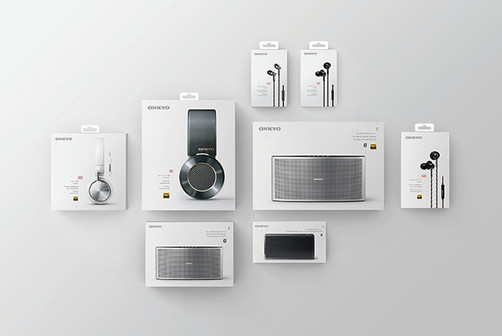 Onkyo Packaging Design