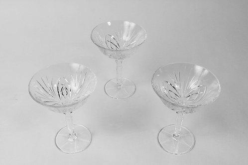 Sektschalen - Kristallglas