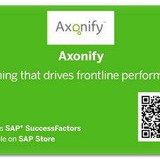 QR button for Axonify
