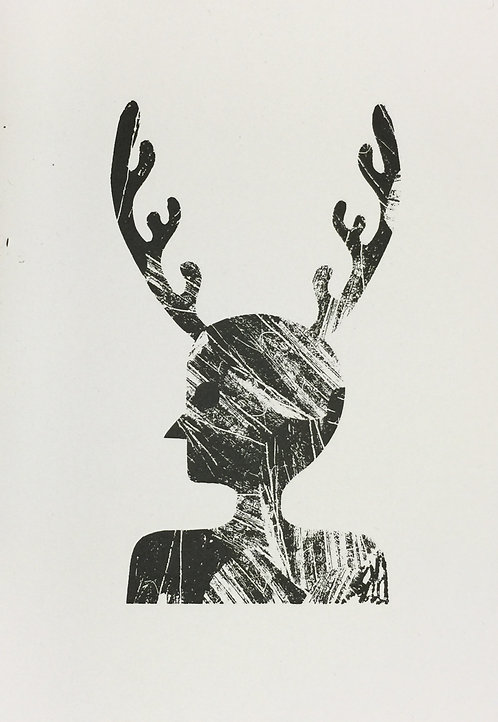 Pan (screen print)