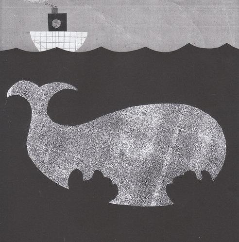 Ocean's Paws (original collage)