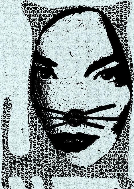 Bjork Is A Cat (digital print)