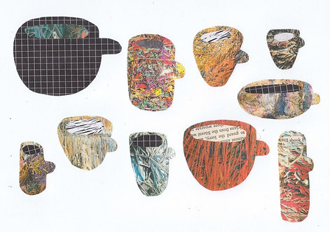 Lots Of Different Cups (digital print)