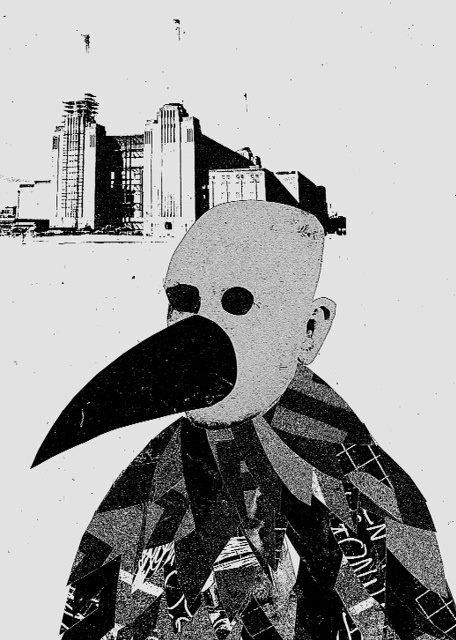 Crow (digital print)