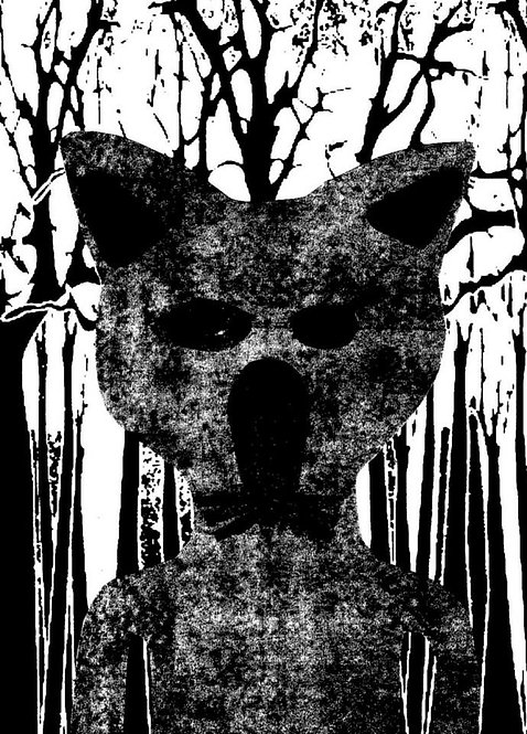 Wolf (digital print)