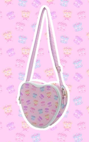 Kire Kuma Heart Bag