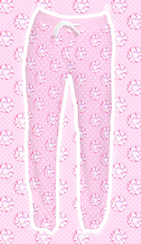 uwuzumaki velvet pants