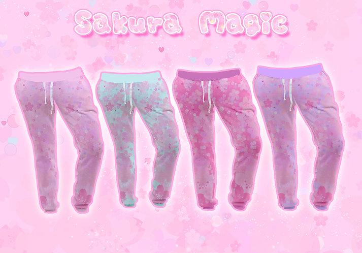 Sakura Magic Joggers