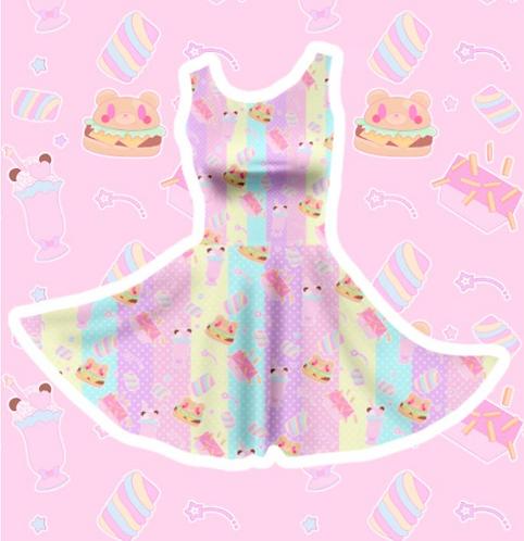 Coco Kuma Diner Skater Dress