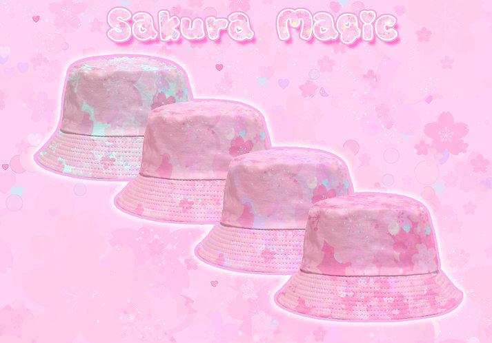 Sakura Magic Bucket Hat