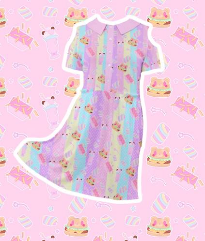 Coco Kuma Diner Cold Shoulder Dress
