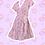 Thumbnail: Precious Flora Flutter Dress