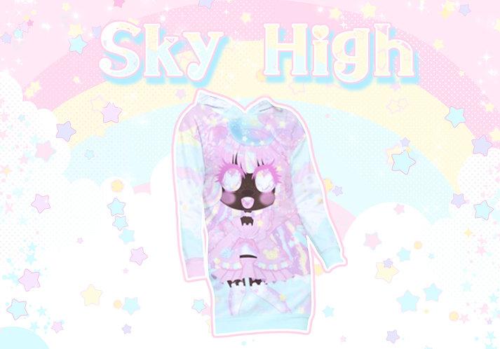 Sky High Long Pullover Hoodie