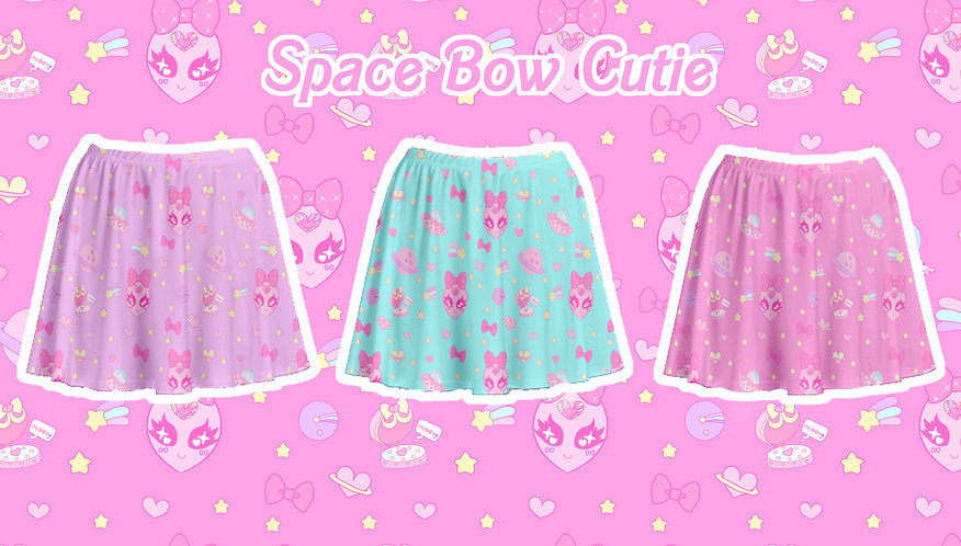 Space Bow Cutie Skirt