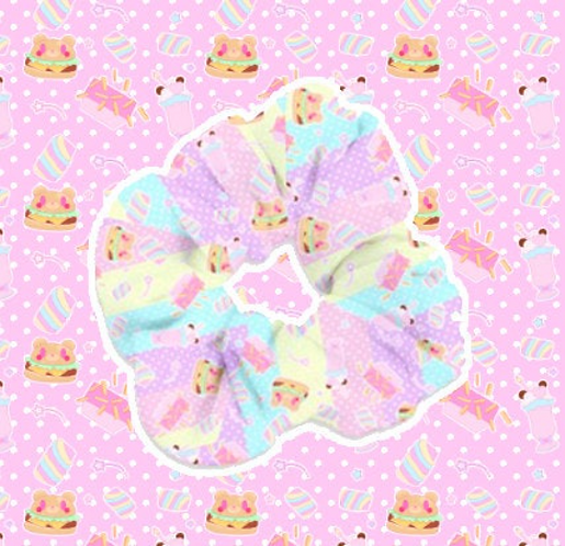 Coco Kuma Diner Fuwa Scrunchie