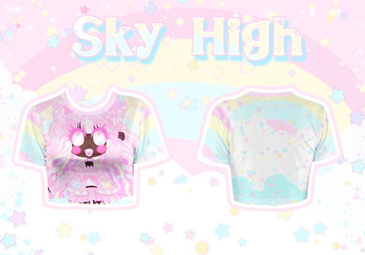 Sky High Crop Top