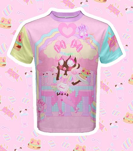 Coco Kuma Diner Fluffy Shirt
