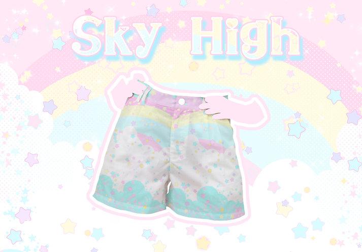 Sky High Ripstop Shorts